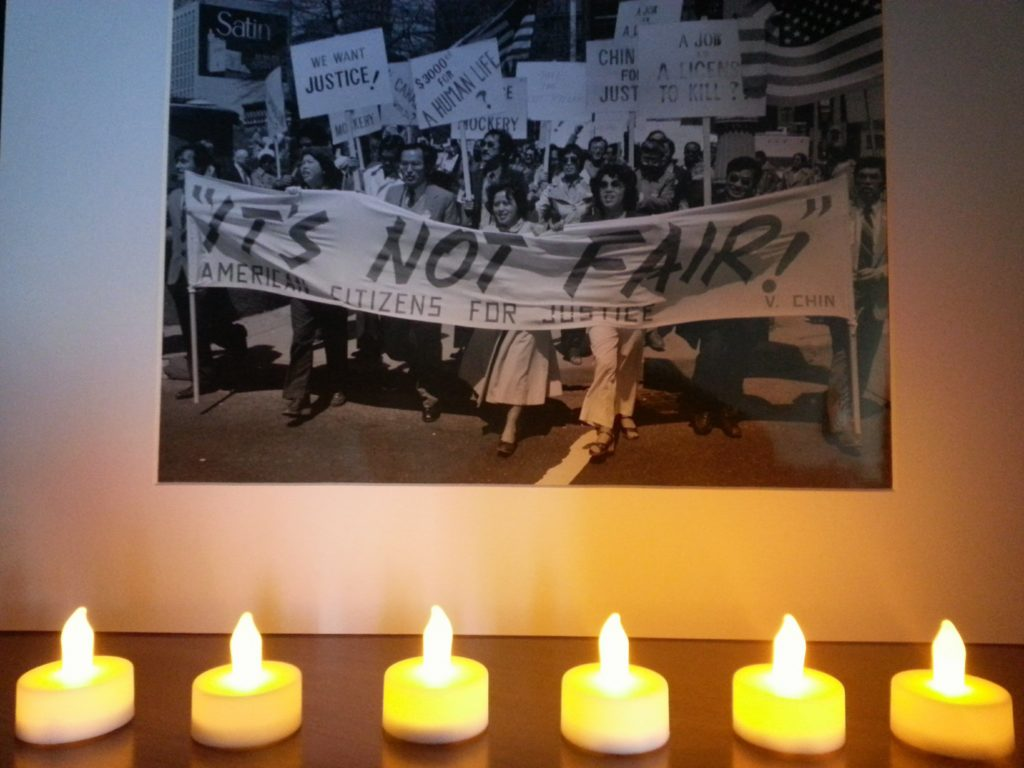 Ronald Ebens Candlelight vigil 2017