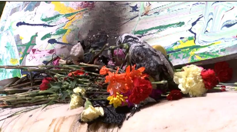 Nabra Hassanen Memorial set ablaze