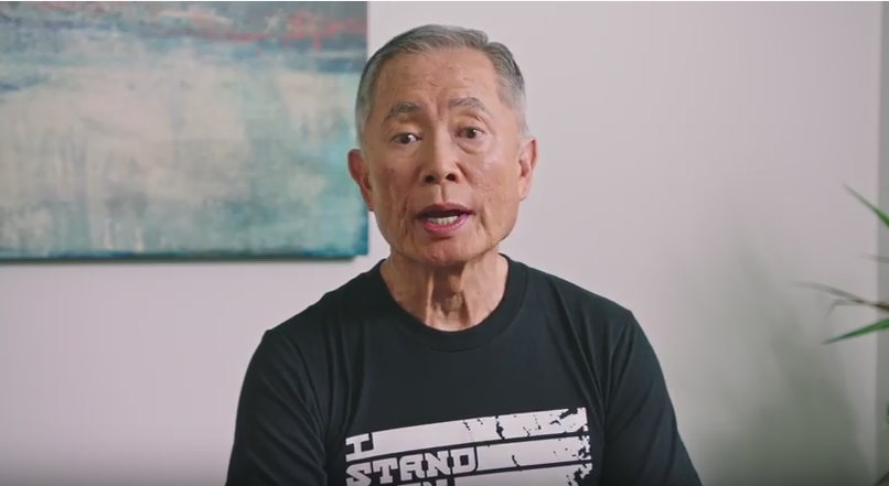 George Takei joins I Stand with Immigrants campaign