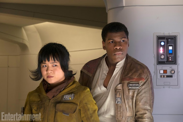 Kelly Marie Tran with John Boyega