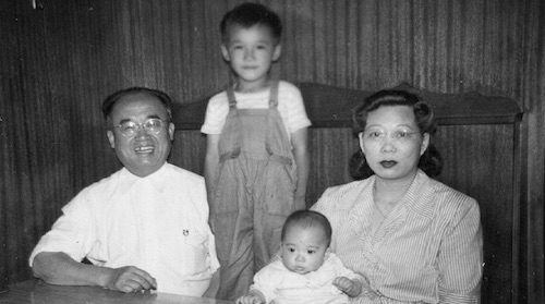 William Wong & Family