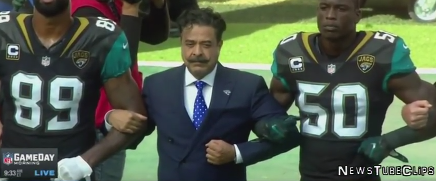 Shad Khan National Anthem Protest