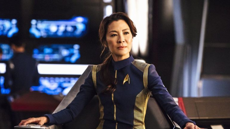 Michelle Yeoh Keeps Accent. Star Trek Discovery premieres Sunday