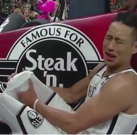 Jeremy Lin Knee injury