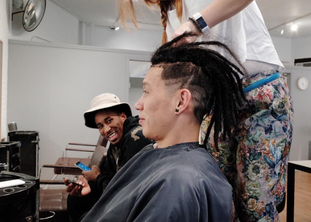 Jeremy Lin gets dreadlocks (Instagram)