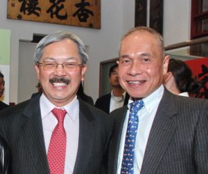 Albert Cheng wth Ed Lee