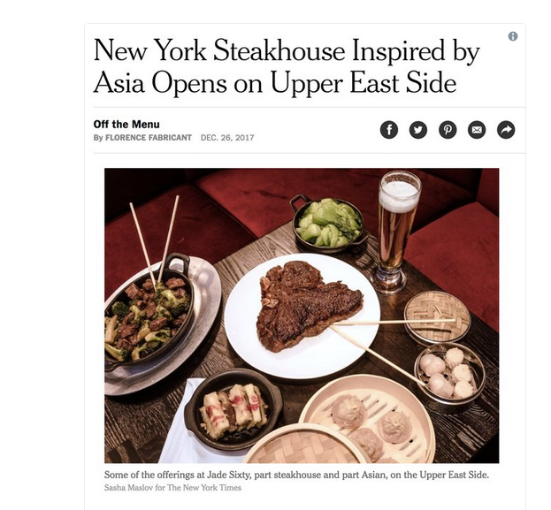 NY Times Chopstick Placement