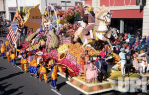 Sikh Float at Tourname of Roses Parade