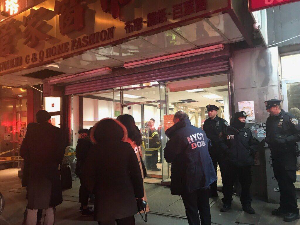 85 Bowery NY Chinatown Evacuation