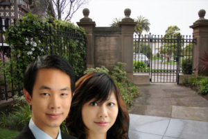 Michael Cheng and Tina Lam