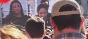 Constance Wu at Women's March 2018