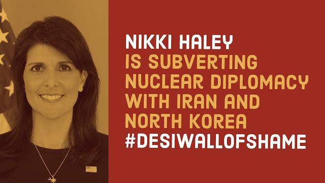 Nikki Haley Wall of Shame