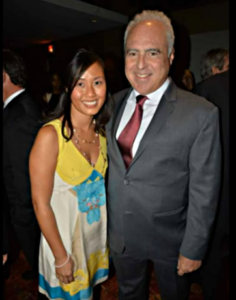 Tina Lai with Jeffrey Lurie