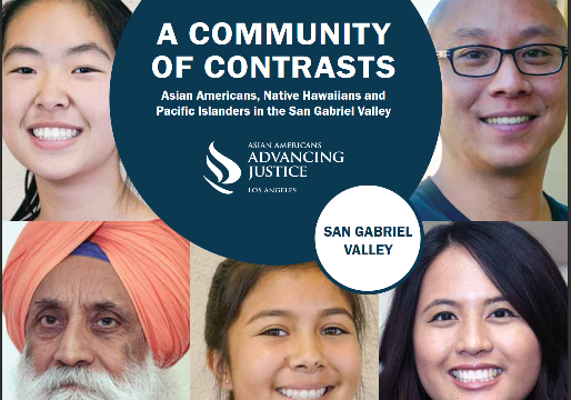 Community of Contrasts: Asian Americans, Native Hawaiians and Pacific Islanders in the San Gabriel Valley.