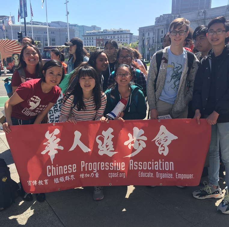 National School Walk Out: Chinese American Youth Join National Walkout
