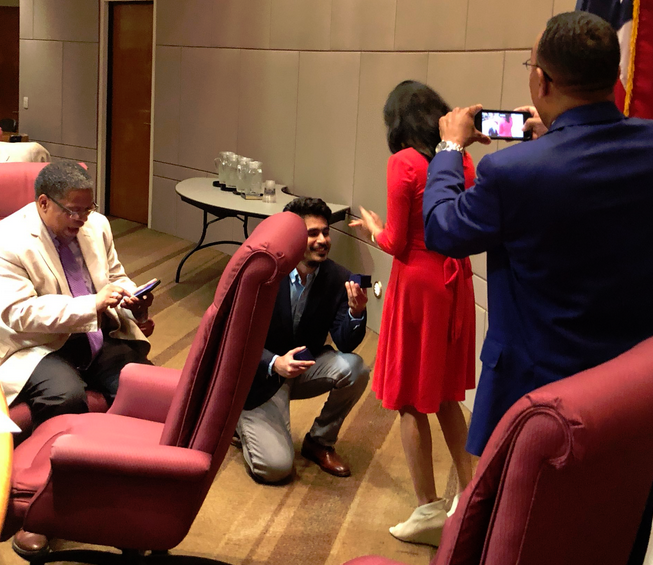 City Councilwoman Gets Marriage Proposal