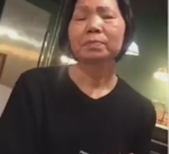 Black on asian video