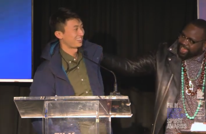 Bing Liu Wins Independent Spirit Award