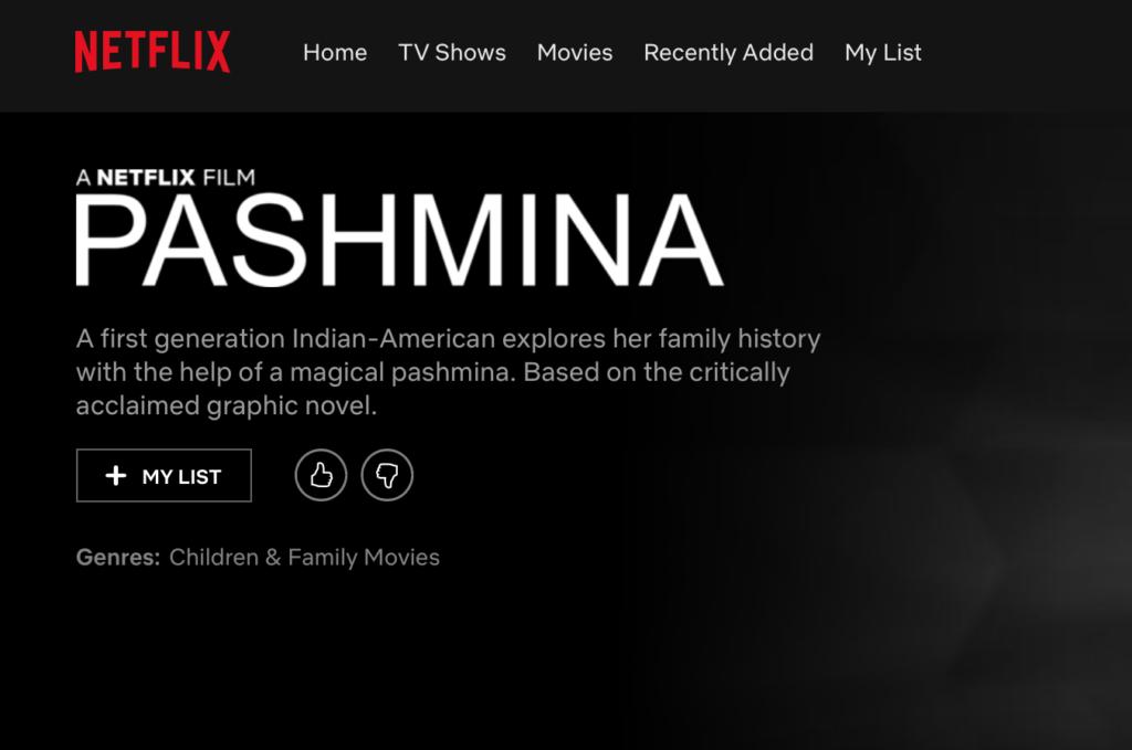 Netflix Original Film   AsAm News