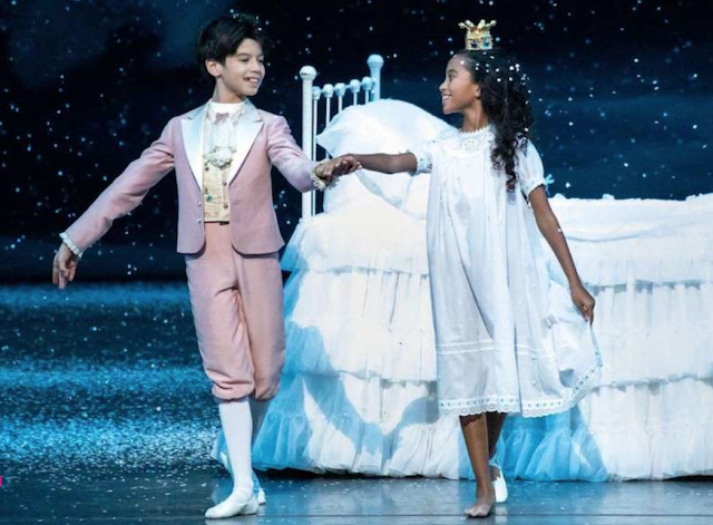 Eleven-year old ballerina Charlotte Nebres is making history.