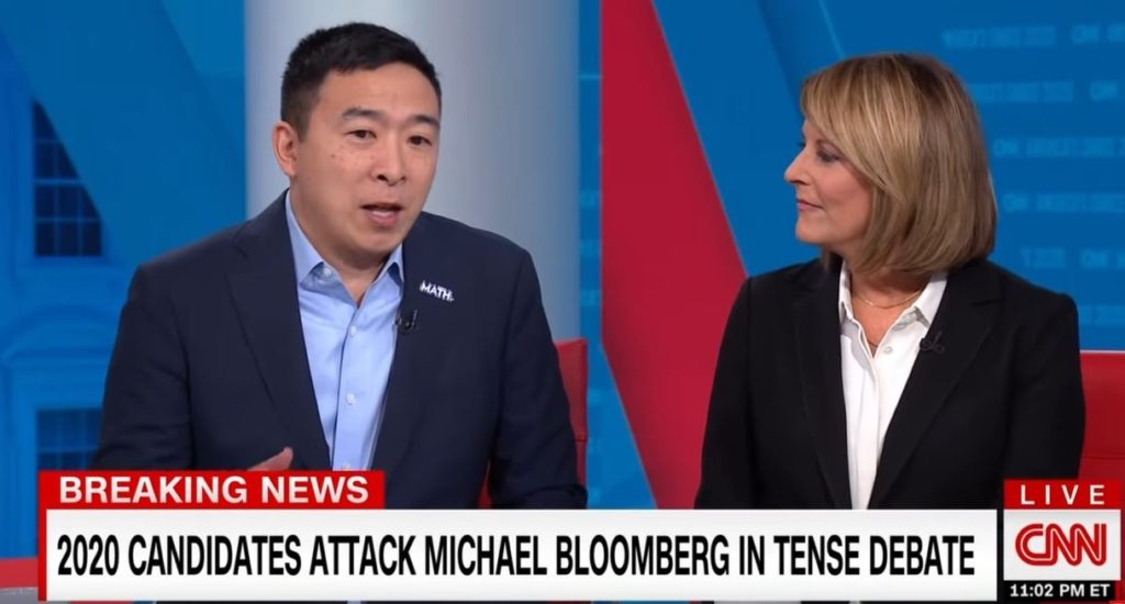 Andrew Yang goes from presidential candidate to CNN analysis