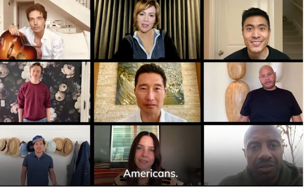Multicultural celebrities join Andrew Yang for <em>We are #AllAmericans </em> campaign to fight coronavirus