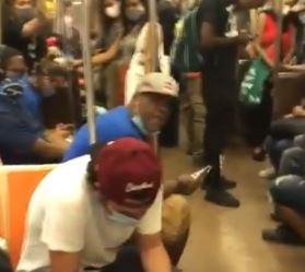 asamnews.com: Man seen harassing Asian American passenger on New York subway. – AsAmNews
