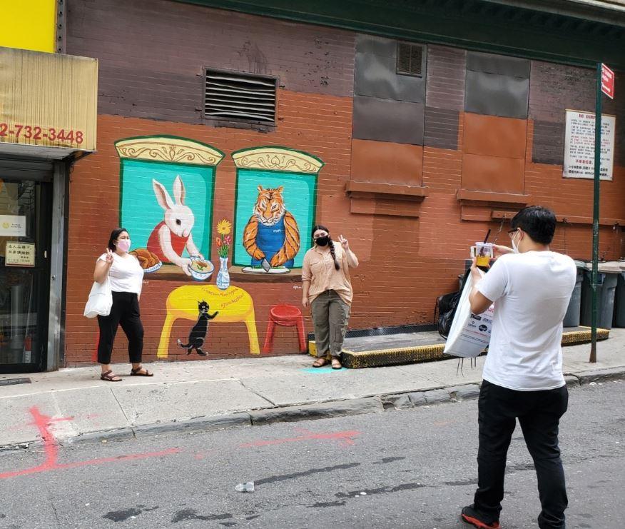 Chinatown Murals New York