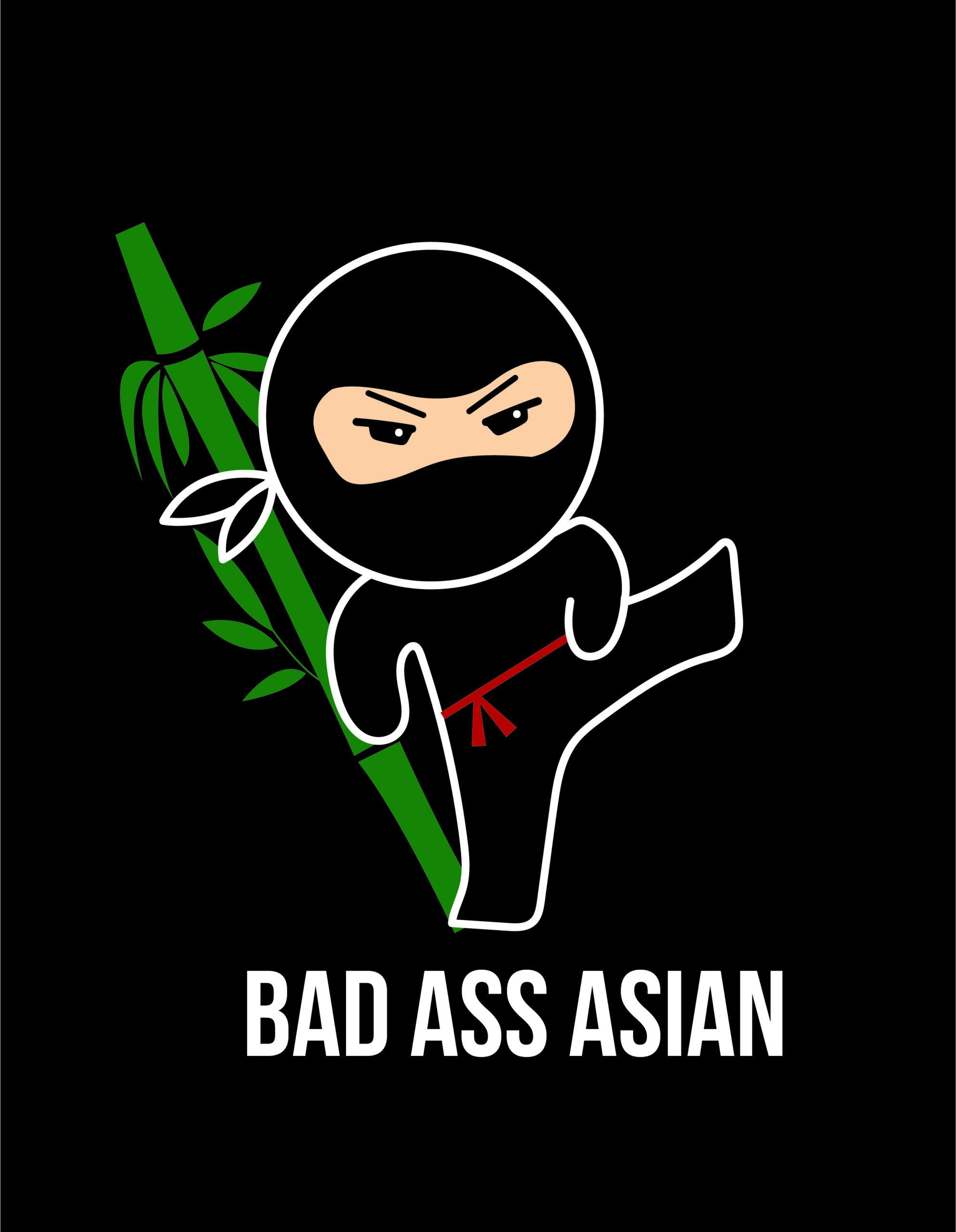 Bad Assi Asian Logo