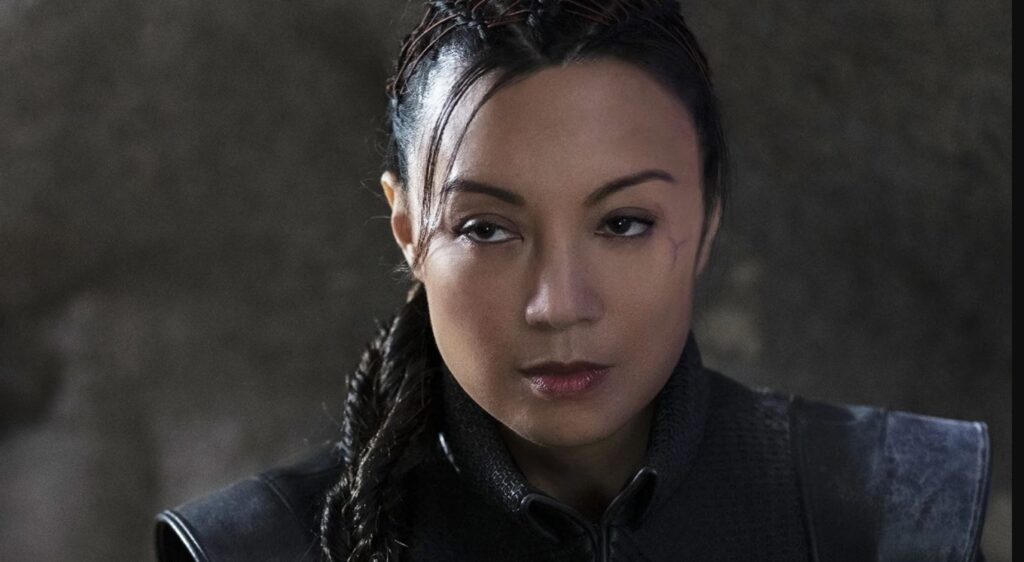 Ming Na Wen in Mandelorian