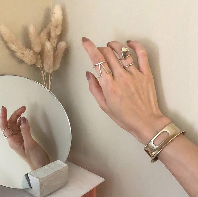 Sublima Jewelry ring and bracelet