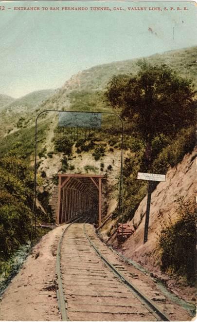 San Fernando Tunnel in California