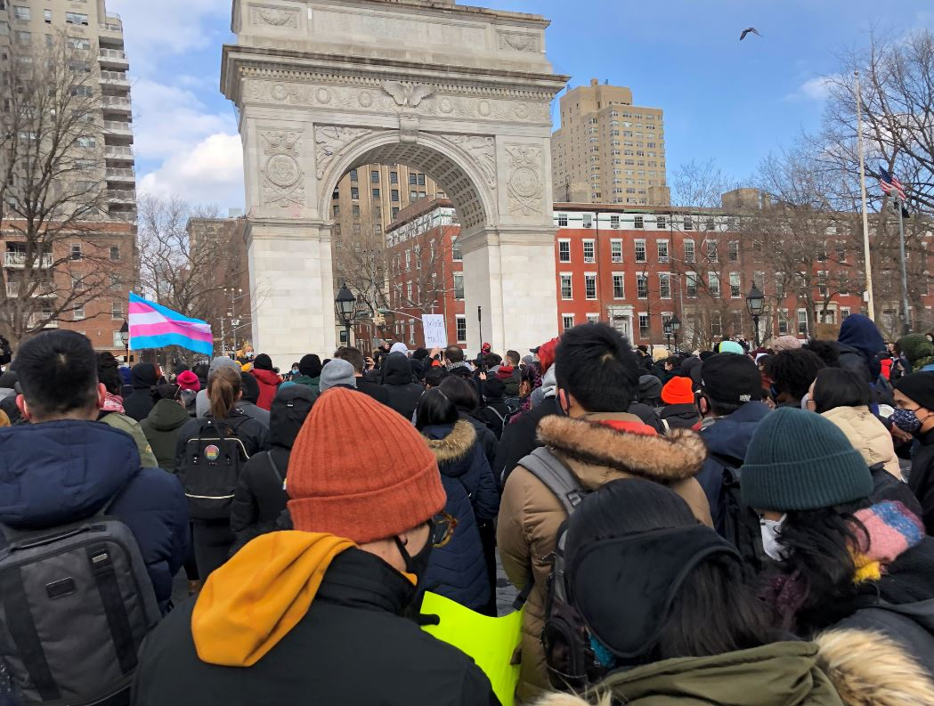 asamnews.com: Hundreds Gather for Rally Against Anti-Asian Hate in NY – AsAmNews