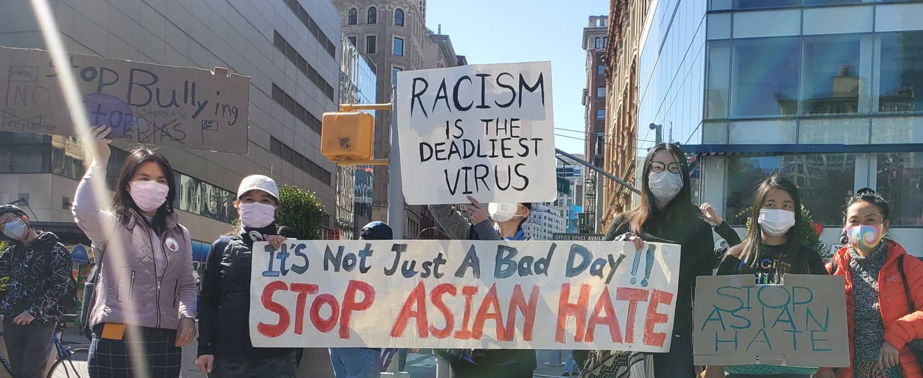 Black Asian Unity Rally in New York