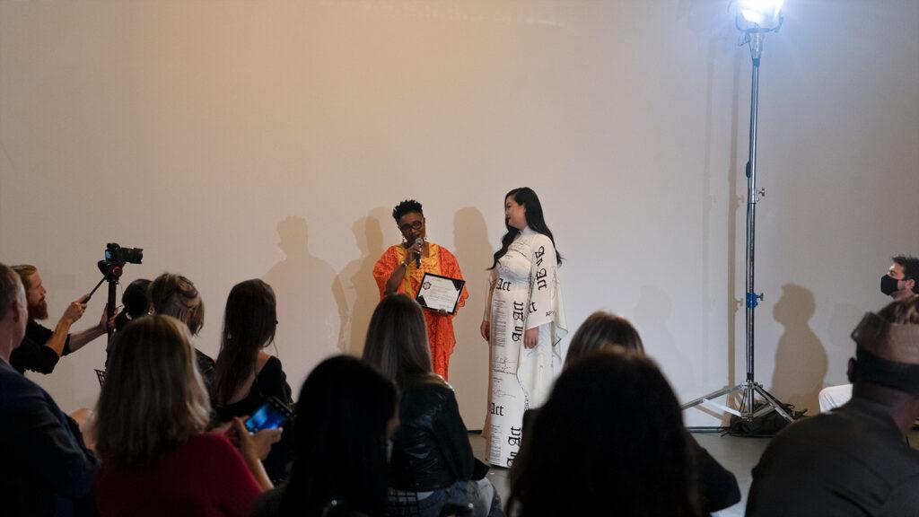 Award speech by Victoria Sulimani