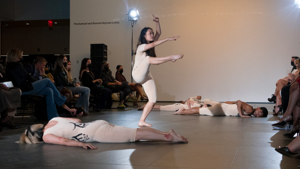 dance performance at NYFW event