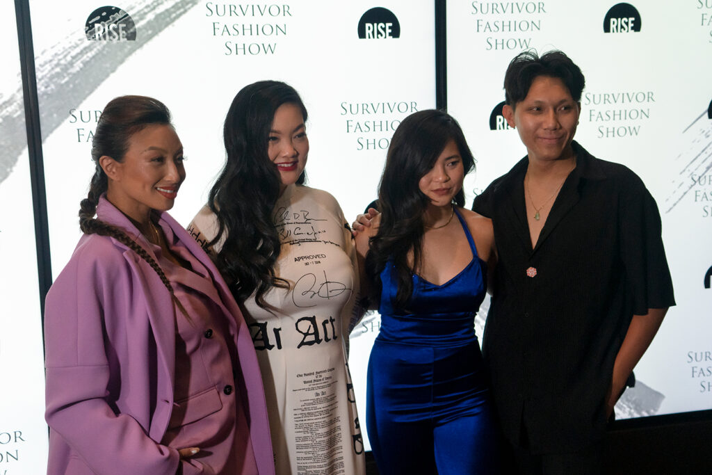 Group photo at Rise NYFW